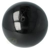 thumb-Zwarte Toermalijn Bol Ø 7.61 cm - 719 gram-8