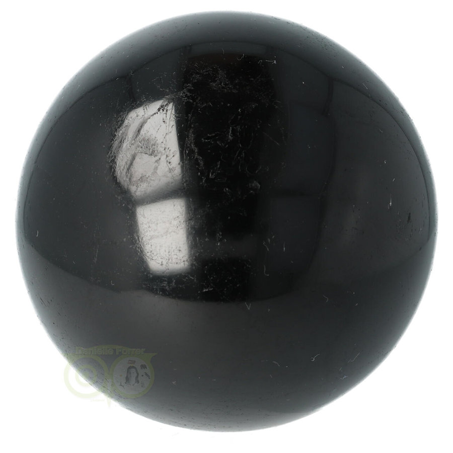 Zwarte Toermalijn Bol Ø 7.61 cm - 719 gram-9