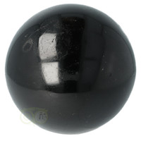 thumb-Zwarte Toermalijn Bol Ø 7.61 cm - 719 gram-10