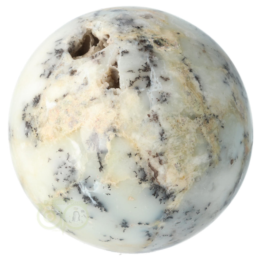 Dendriet Opaal - Agaat bol Nr 1 - 949 gram-6