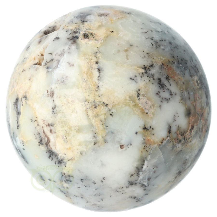 Dendriet Opaal - Agaat bol Nr 1 - 949 gram-9