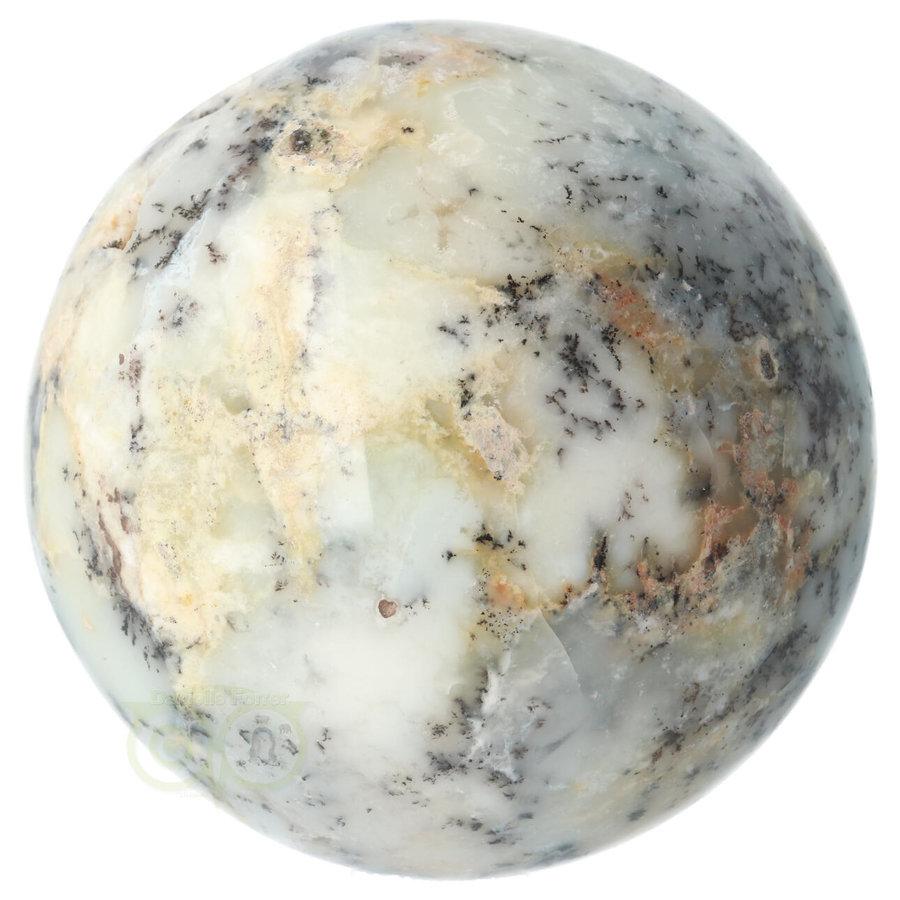 Dendriet Opaal - Agaat bol Nr 1 - 949 gram-10