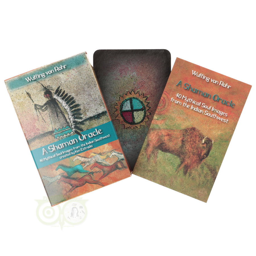 A Shaman oracle – Wulfing von Rohr & Ken Estrada-3