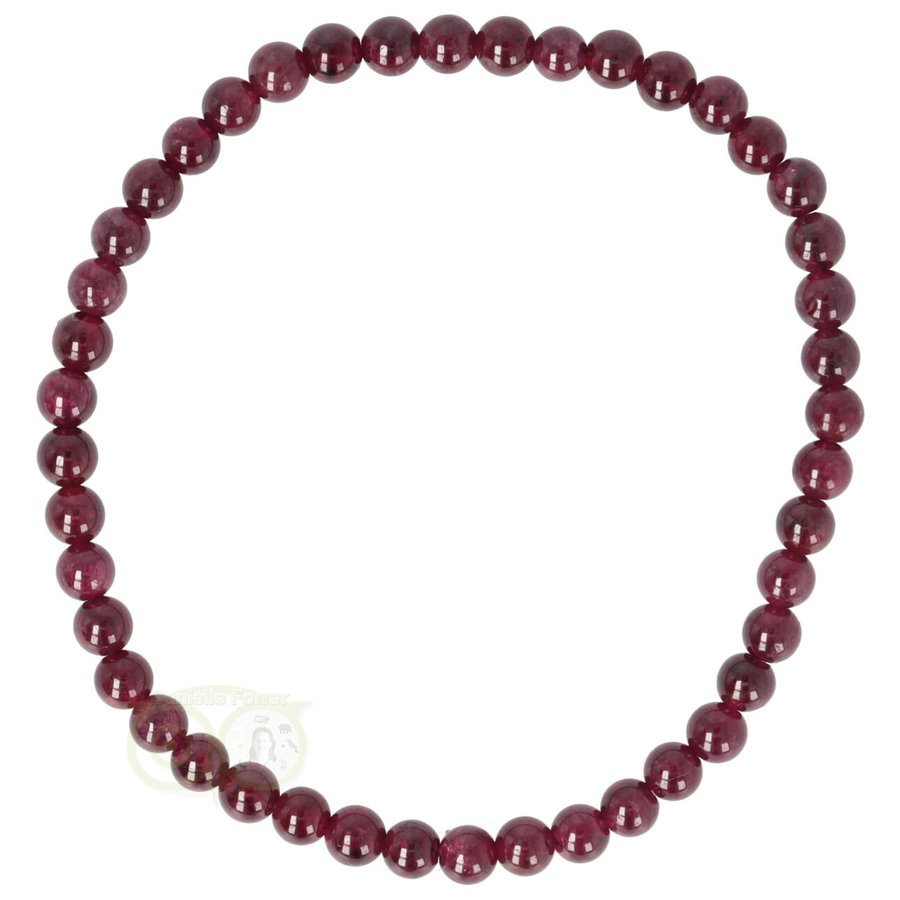 Armband Granaat elastisch-1