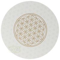 thumb-Bloem des levens / Flower of life onderzetters set van 6-3