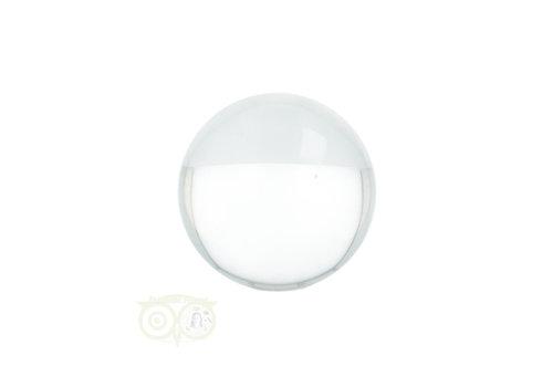 Kristallen bol ( Lensball ) ± Ø 5 cm