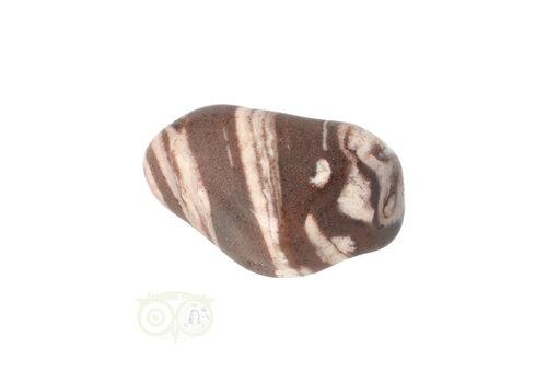 Jaspis Cappuccino trommelsteen Nr 23