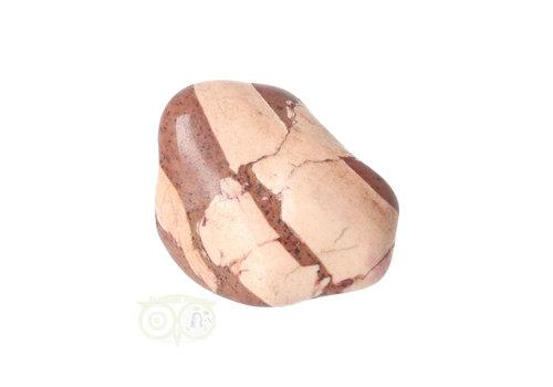 Jaspis Cappuccino trommelsteen Nr 24