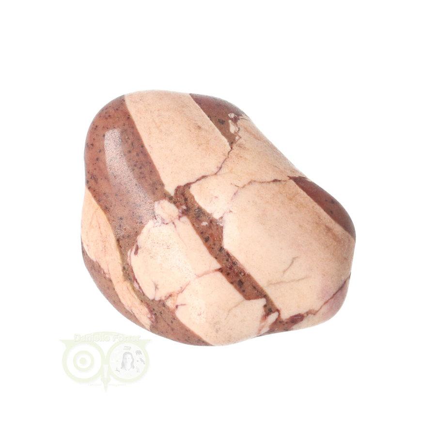 Jaspis Cappuccino trommelsteen Nr 24 - 24  gram - Zuid Afrika-1