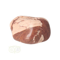 thumb-Jaspis Cappuccino trommelsteen Nr 24 - 24  gram - Zuid Afrika-4