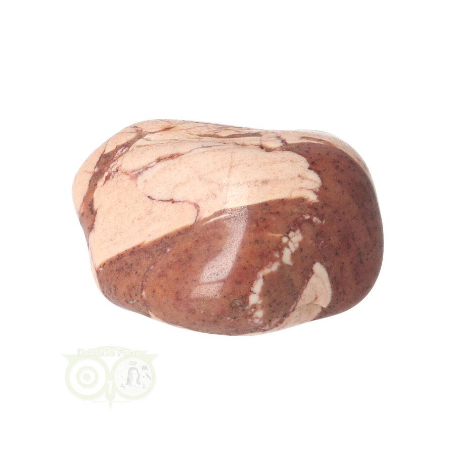 Jaspis Cappuccino trommelsteen Nr 24 - 24  gram - Zuid Afrika-4