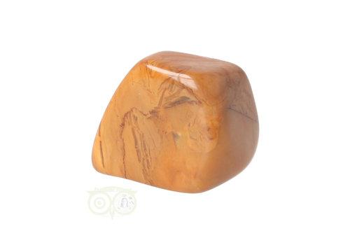 Jaspis Geel trommelsteen Nr 15