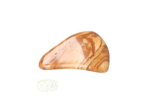 Jaspis Geel trommelsteen Nr 16