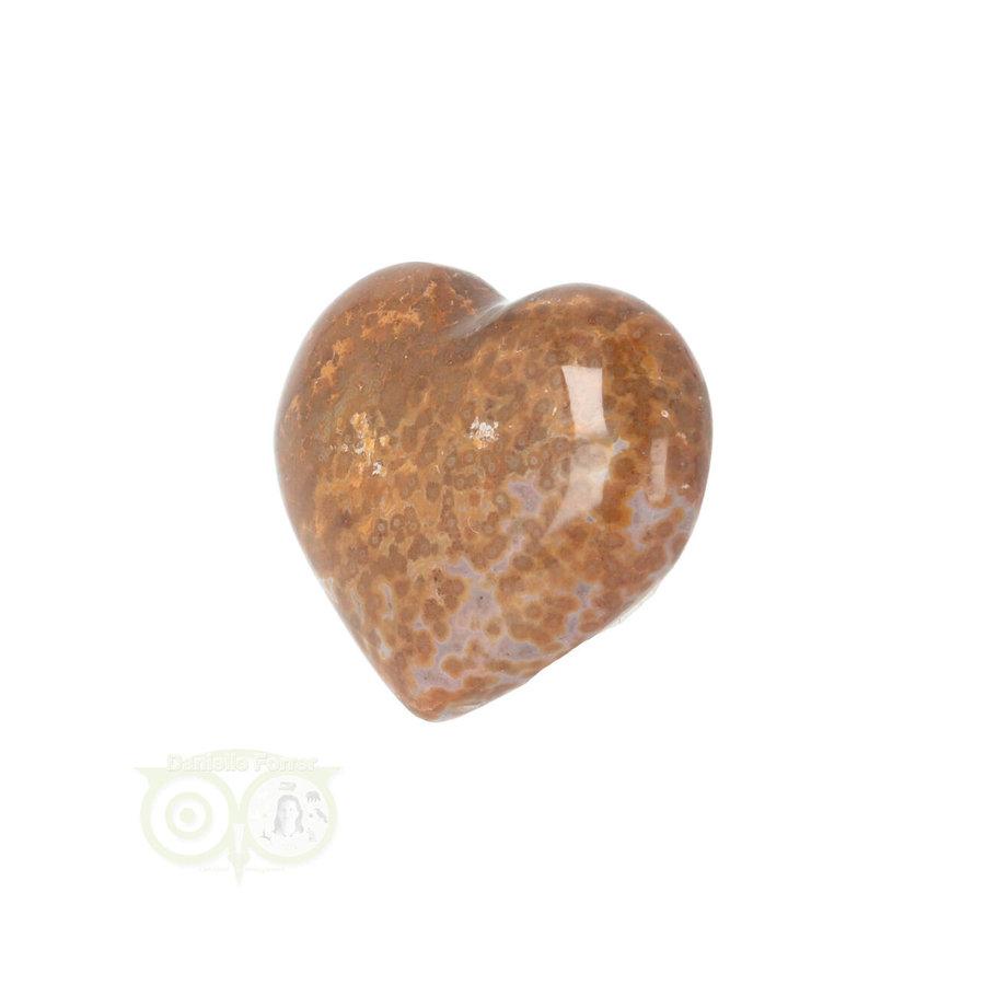 Oceaan Jaspis hart ± 3 cm Nr 12 - 18 gram-2