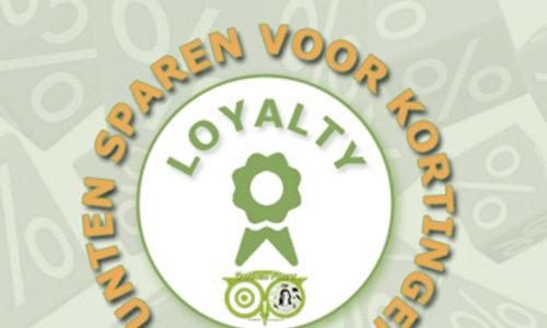 Sparen voor korting - Loyalty Programma