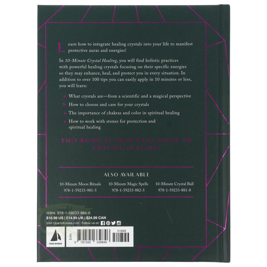 10-Minute Crystal Healing ( hardcover) - Ann Crane-2