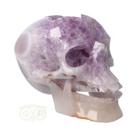 thumb-Amethist - Agaat Geode kristallen schedel 3.9 kg-9