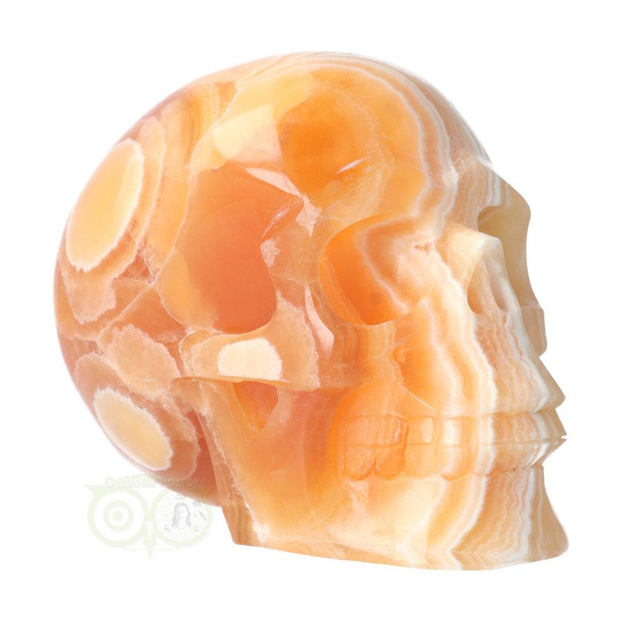 Oranje Calciet schedel 2015 gram-2