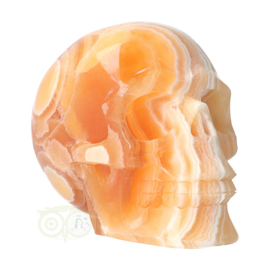 Oranje Calciet schedel 2015 gram-3