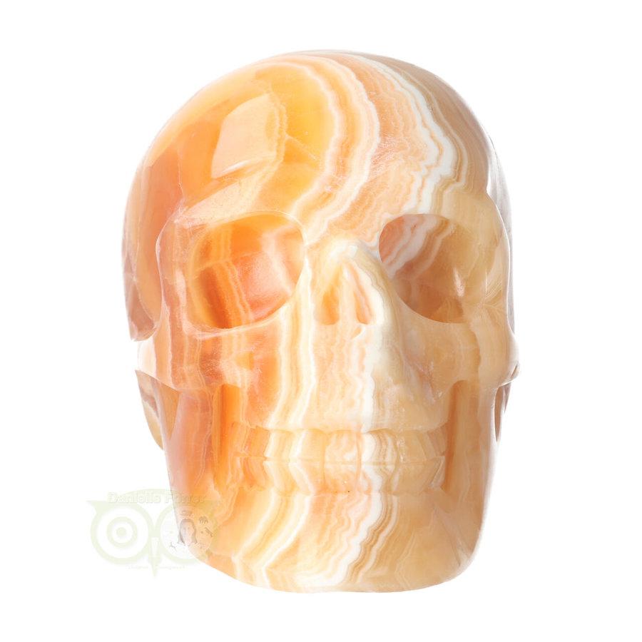 Oranje Calciet schedel 2015 gram-6