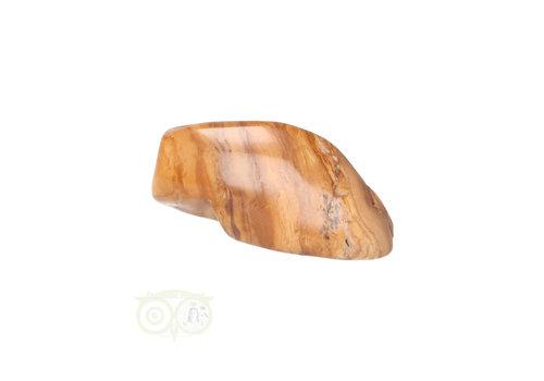 Jaspis Geel trommelsteen Nr 22