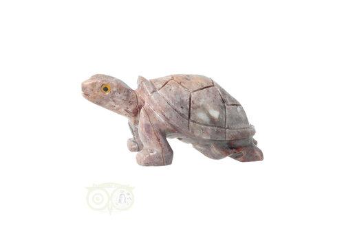 Speksteen ( Steatiet ) Schildpad Nr 10