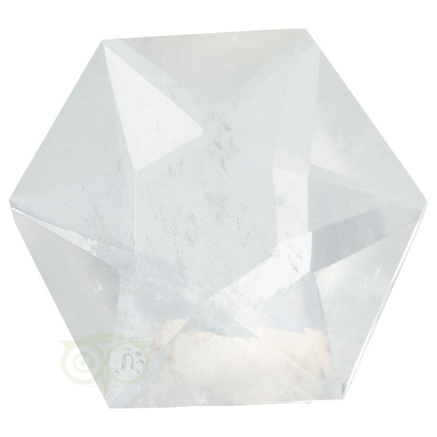 Bergkristal Ster -Hexagon Nr 11 - 190  gram-1