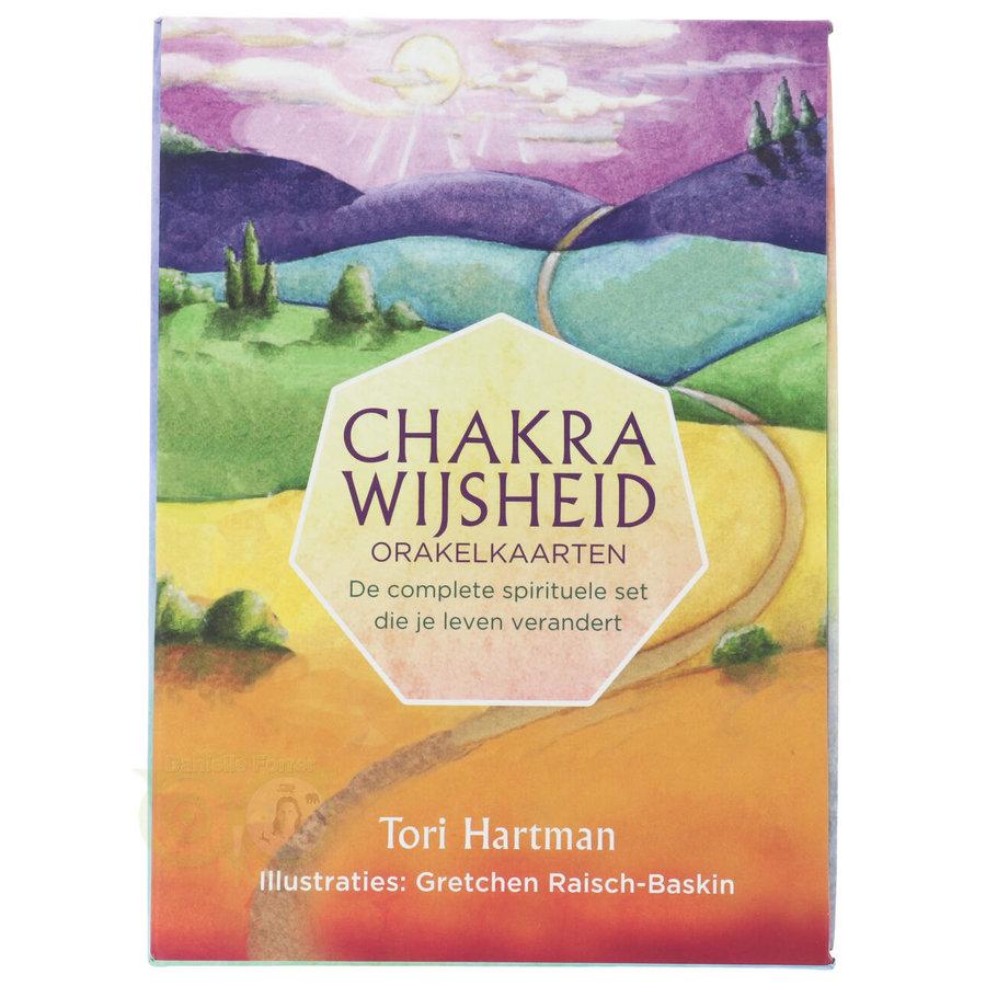 Chakra Wijsheid Orakel Set - Tori Hartman + extra engelstalig boek 'How To..-4
