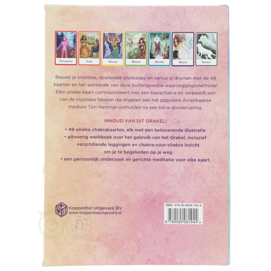 Chakra Wijsheid Orakel Set - Tori Hartman + extra engelstalig boek 'How To..-10