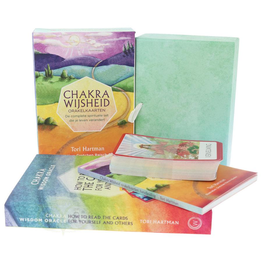 Chakra Wijsheid Orakel Set - Tori Hartman + extra engelstalig boek 'How To..-2