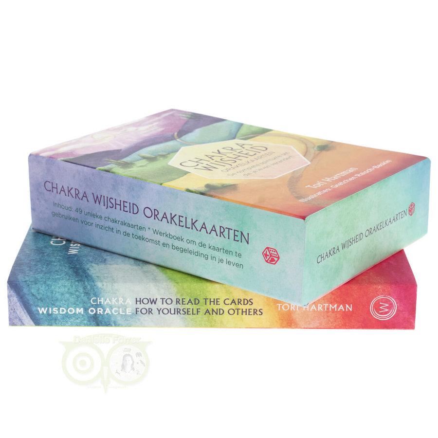 Chakra Wijsheid Orakel Set - Tori Hartman + extra engelstalig boek 'How To..-5