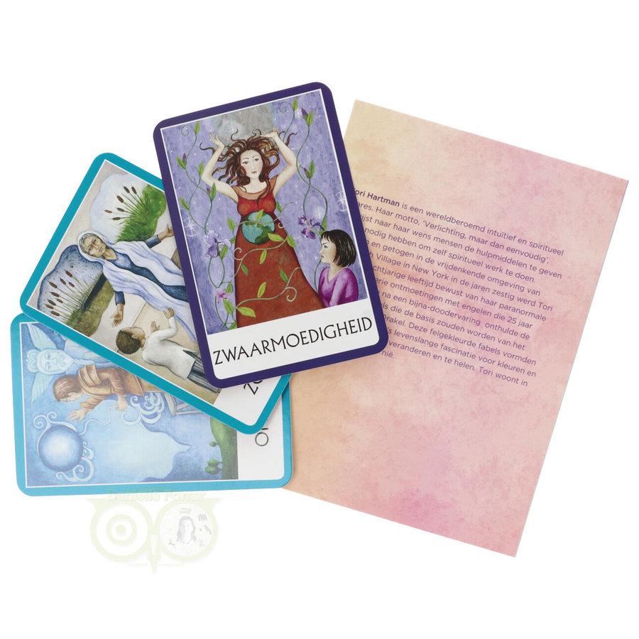 Chakra Wijsheid Orakel Set - Tori Hartman + extra engelstalig boek 'How To..-7