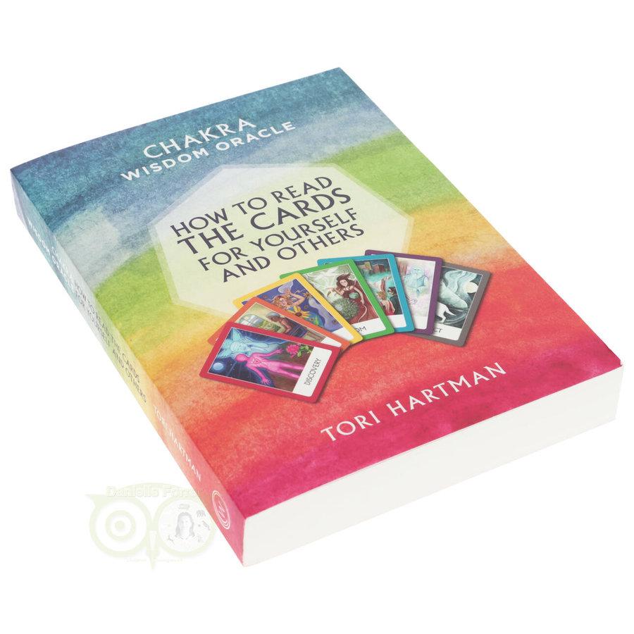 Chakra Wijsheid Orakel Set - Tori Hartman + extra engelstalig boek 'How To..-8