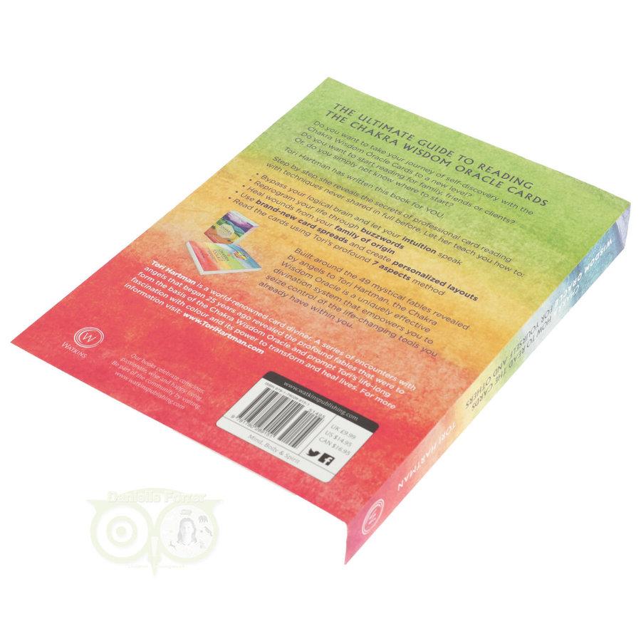 Chakra Wijsheid Orakel Set - Tori Hartman + extra engelstalig boek 'How To..-9