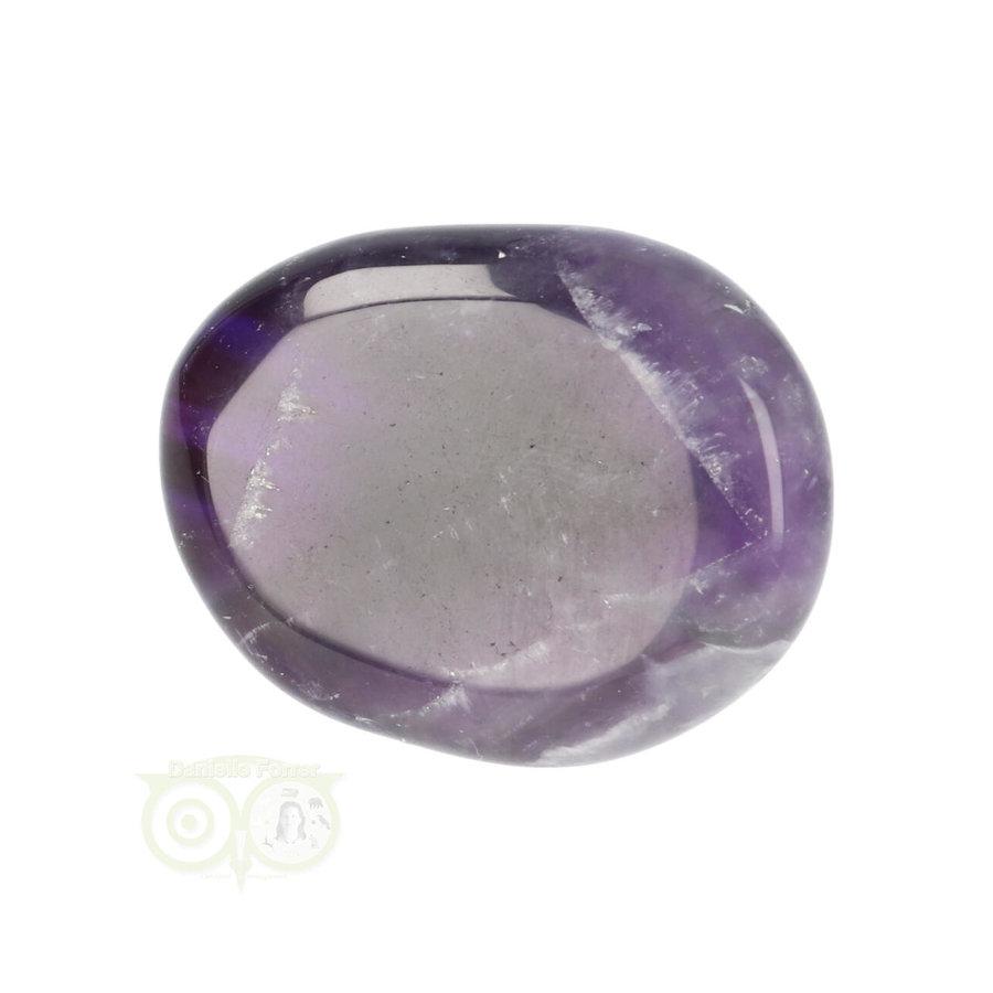 Amethist oplegsteen - zaksteen Nr 22 - 24 gram-2