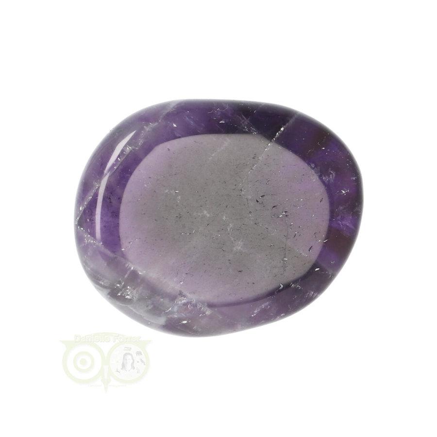 Amethist oplegsteen - zaksteen Nr 22 - 24 gram-3