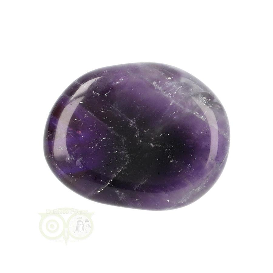 Amethist oplegsteen - zaksteen Nr 22 - 24 gram-4