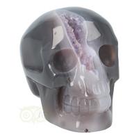 thumb-Agaat Amethist Geode kristallen schedel 523 gram-1