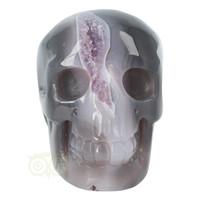 thumb-Agaat Amethist Geode kristallen schedel 523 gram-2
