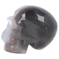 thumb-Agaat Amethist Geode kristallen schedel 523 gram-5