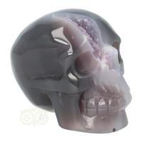 thumb-Agaat Amethist Geode kristallen schedel 523 gram-9