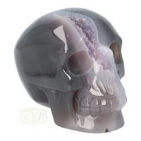 thumb-Agaat Amethist Geode kristallen schedel 523 gram-10