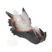 thumb-Agaat Geode Drakenschedel 326 gram-2