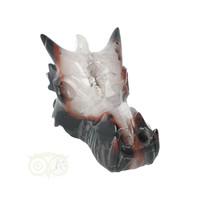thumb-Agaat Geode Drakenschedel 326 gram-3