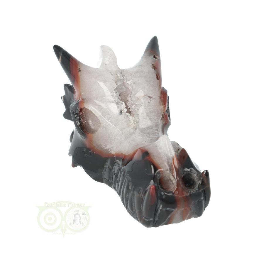 Agaat Geode Drakenschedel 326 gram-3