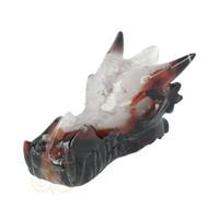 thumb-Agaat Geode Drakenschedel 326 gram-5