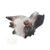 thumb-Agaat Geode Drakenschedel 326 gram-8