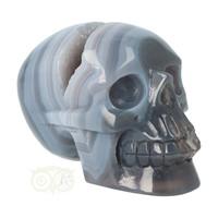 thumb-Agaat  Geode 'Tooth' kristallen schedel 714 gram-2