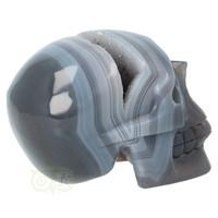 thumb-Agaat  Geode 'Tooth' kristallen schedel 714 gram-9
