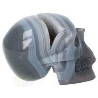thumb-Agaat  Geode 'Tooth' kristallen schedel 714 gram-10